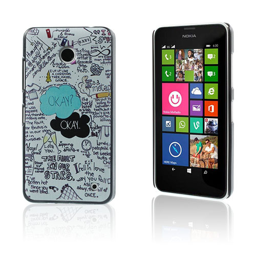 Persson Nokia Lumia 630/635 Skal – Citat The Fault In Our Stars