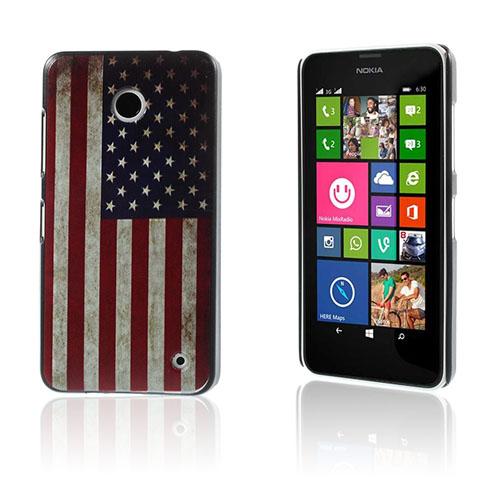 Persson Nokia Lumia 630/635 Skal – Vintage American Flagga