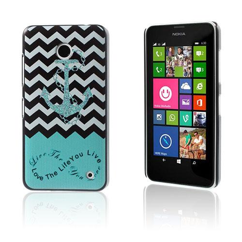 Persson Nokia Lumia 630/635 Skal – Ankare & Chevron Rand