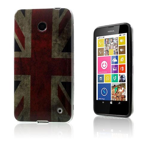 Westergaard Nokia Lumia 630 Skal – Vintage UK Flagga
