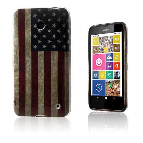 Westergaard Nokia Lumia 630 Skal – Vintage USA Flagga