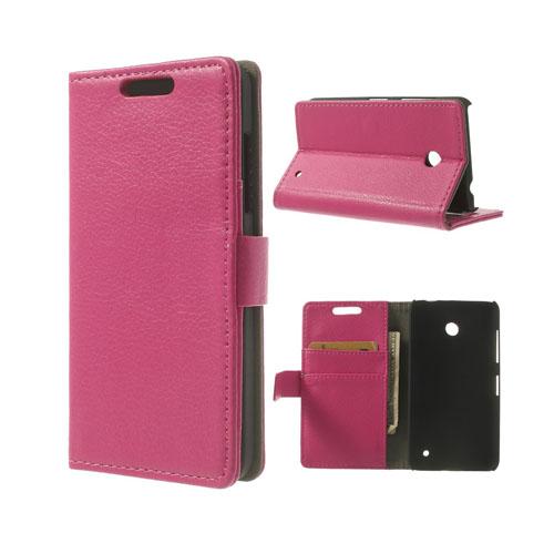 Wall Street (Rosa) Nokia Lumia 630/635 Fodral