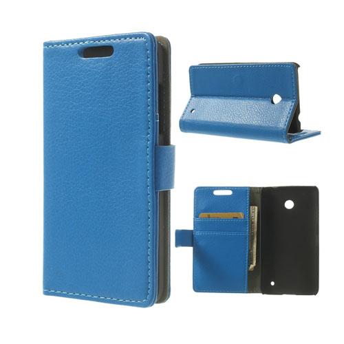 Wall Street (Blå) Nokia Lumia 630/635 Fodral