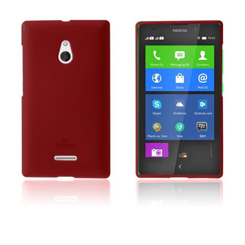 Glitter (Röd) Nokia XL Skal