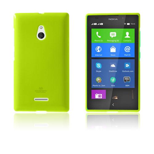 Glitter (Grön) Nokia XL Skal