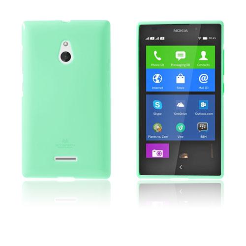 Glitter (Cyan) Nokia XL Skal