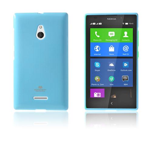 Glitter (Ljusblå) Nokia XL Skal