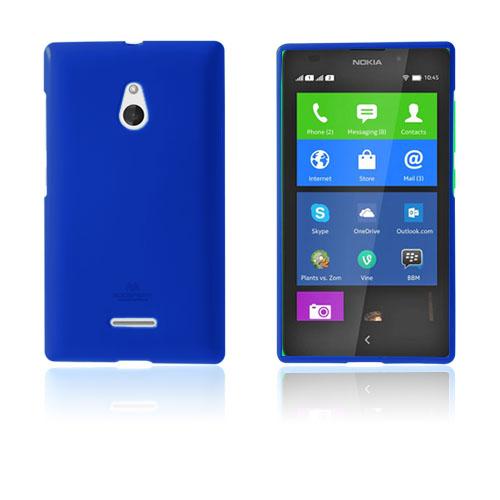 Glitter (Blå) Nokia XL Skal