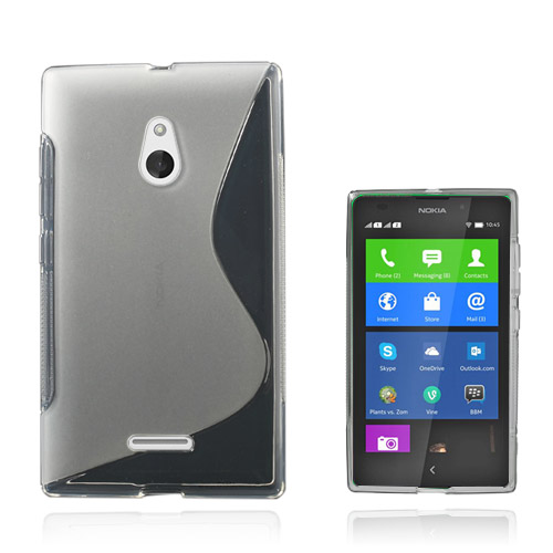 S-Line (Transparent) Nokia XL Skal