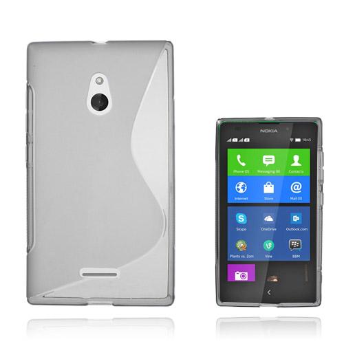 S-Line (Grå) Nokia XL Skal