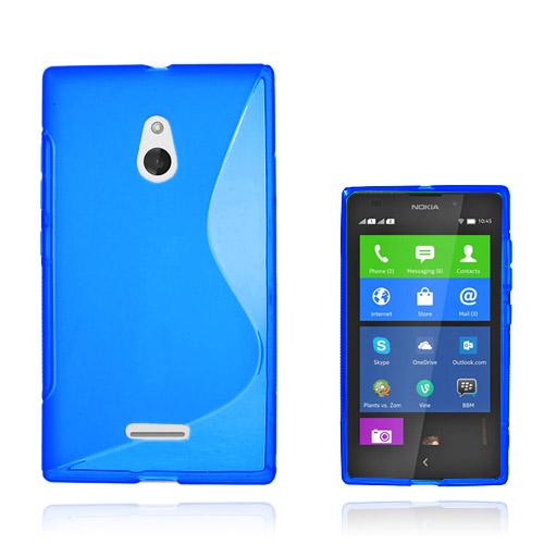 S-Line (Blå) Nokia XL Skal
