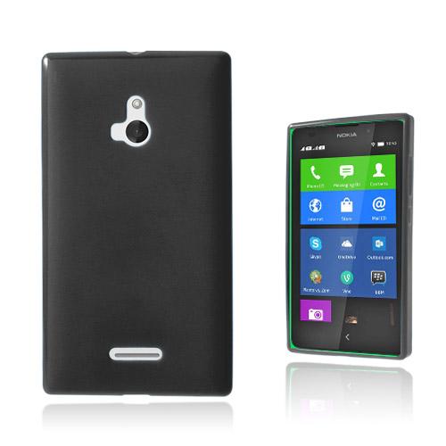Soft Shell (Svart) Nokia XL Skal