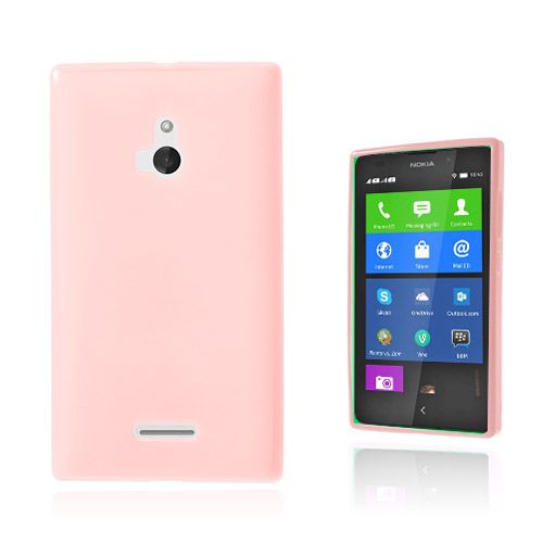 Soft Shell (Rosa) Nokia XL Skal