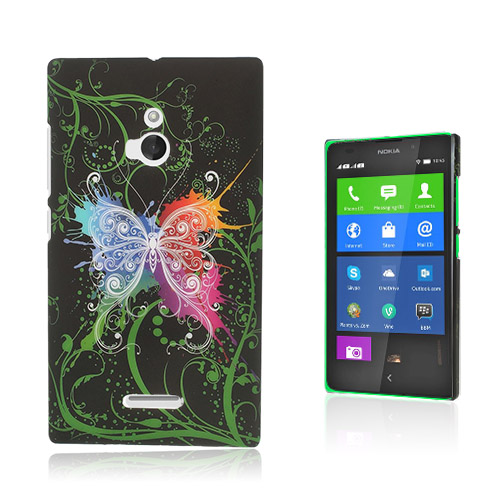 Valentine (Mörk Fjäril) Nokia XL Skal