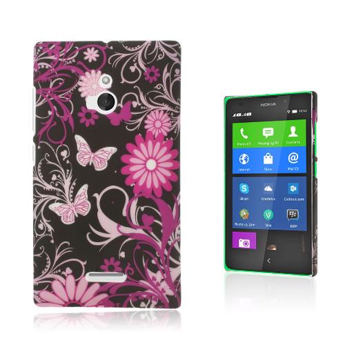 Valentine (Blommor & Fjärilar) Nokia XL Skal