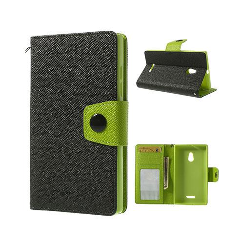 Brooklyn (Svart) Nokia XL Flip-Fodral