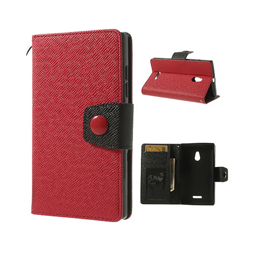 Brooklyn (Röd) Nokia XL Flip-Fodral