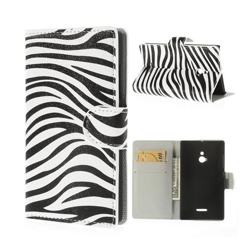 Festival (Zebra) Nokia XL Flip-Fodral
