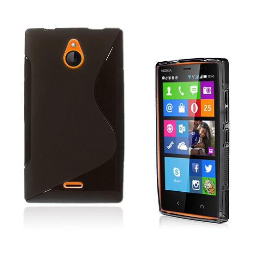 Lagerlöf (Svart) Nokia X2 Skal