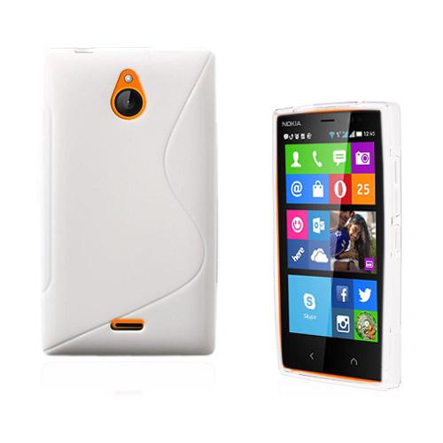 Lagerlöf (Vit) Nokia X2 Skal