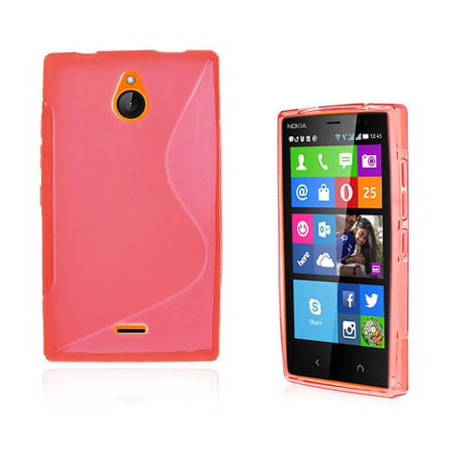 Lagerlöf (Röd) Nokia X2 Skal