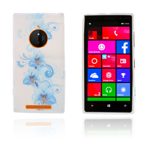 Westergaard (Blå Blommor) Nokia Lumia 830 Skal