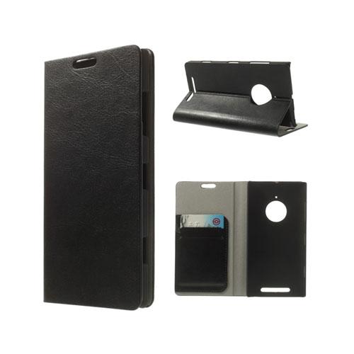 Mankell (Svart) Nokia Lumia 830 Läder Flip Fodral