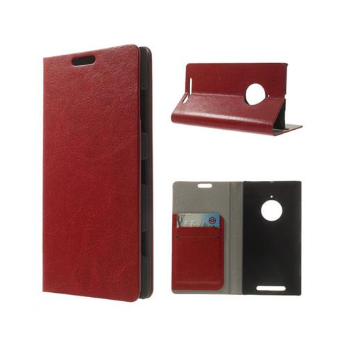Mankell (Röd) Nokia Lumia 830 Läder Flip Fodral
