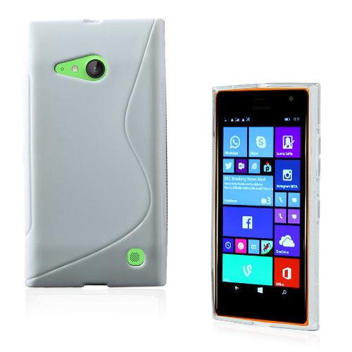 Lagerlöf (Vit) Nokia Lumia 730 Skal