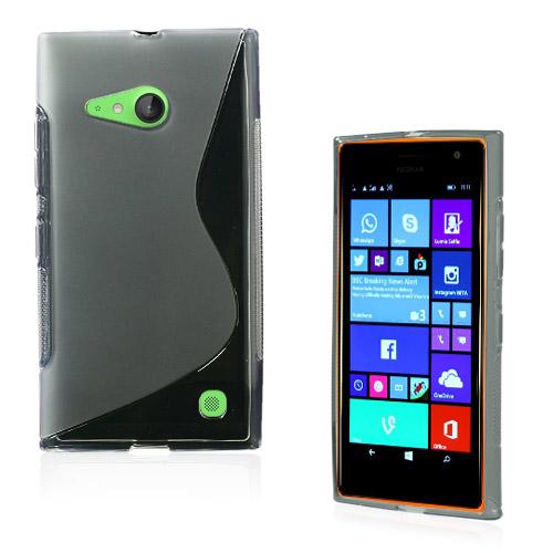 Lagerlöf (Transparent) Nokia Lumia 730 Skal