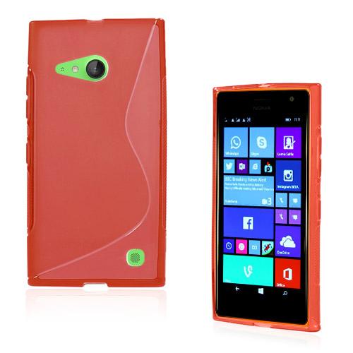 Lagerlöf (Röd) Nokia Lumia 730 Skal