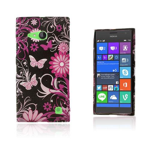 Westergaard Nokia Lumia 730 Skal – Fjärilar och Blommor