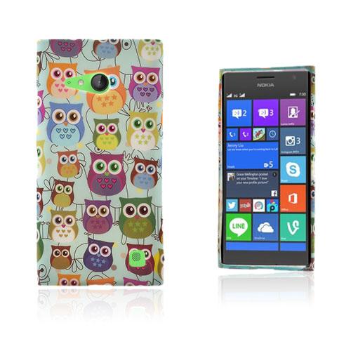 Westergaard Nokia Lumia 730 Skal – Flera Söta Ugglor