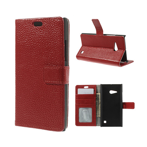 Hjorth (Röd) Nokia Lumia 730 Flip-Fodral