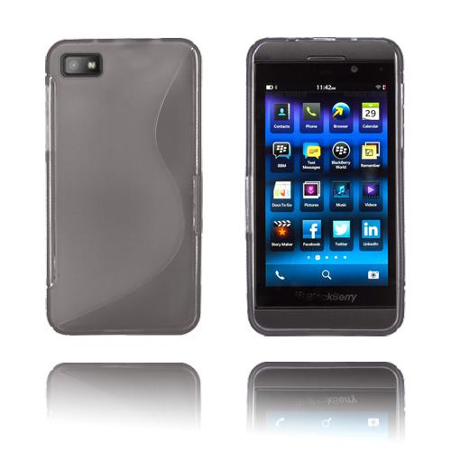 S-Line (Grå) BlackBerry Z10 Skal