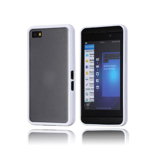 ColorEdge (Vit) BlackBerry Z10 Skal