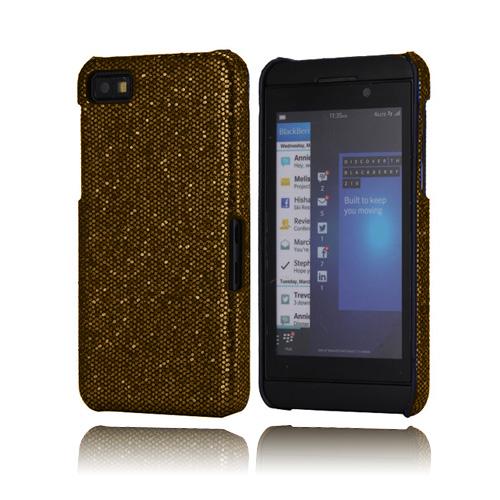 Glitter (Guld) BlackBerry Z10 Skal