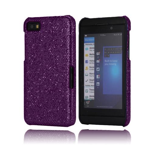 Glitter (Lila) BlackBerry Z10 Skal