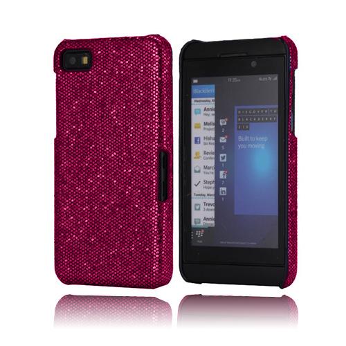 Glitter (Röd) BlackBerry Z10 Skal