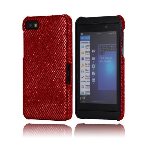 Glitter (Vinröd) BlackBerry Z10 Skal