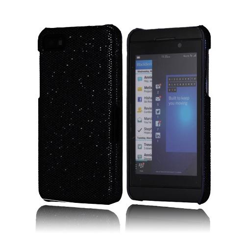Glitter (Svart) BlackBerry Z10 Skal