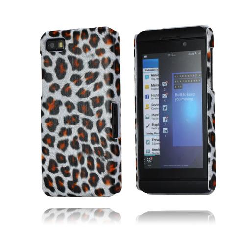 Leopard (Grå) BlackBerry Z10 Skal