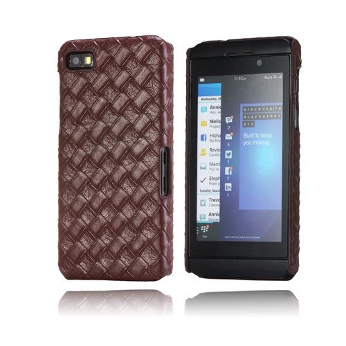 Longhorn (Brun) BlackBerry Z10 Skal