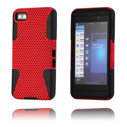 Shooter (Röd) BlackBerry Z10 Kombinationsskal
