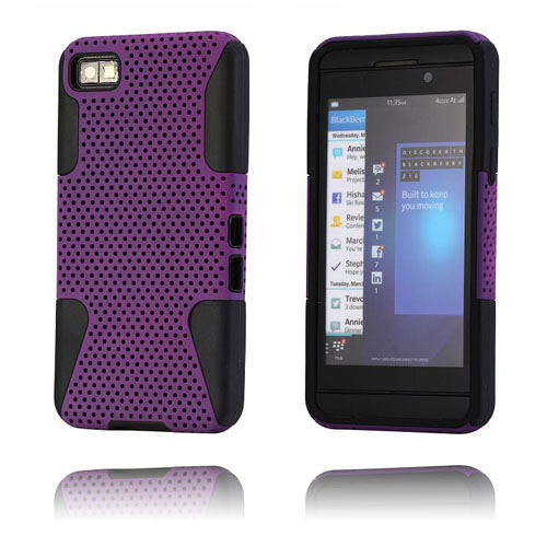 Shooter (Lila) BlackBerry Z10 Kombinationsskal