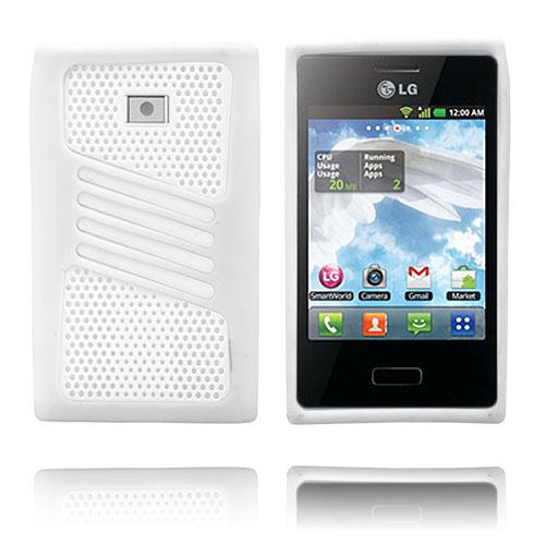 Atlantic (Vit) LG Optimus L3 Skal