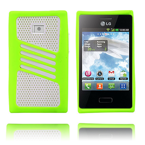 Atlantic (Grön) LG Optimus L3 Skal