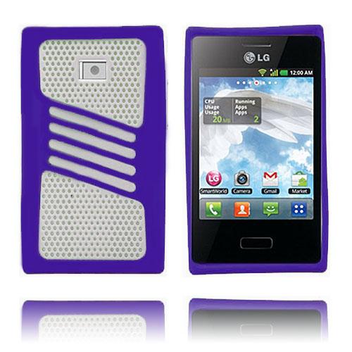 Atlantic (Lila) LG Optimus L3 Skal