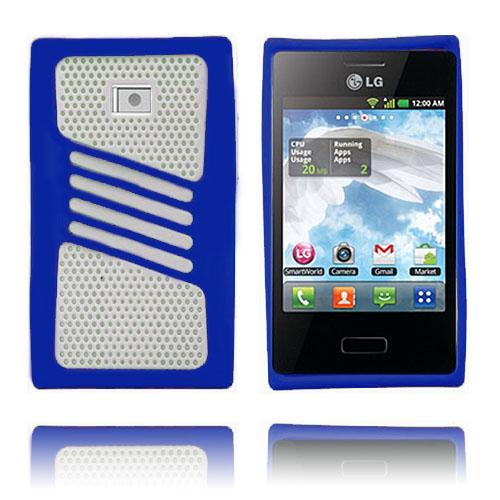 Atlantic (Blå) LG Optimus L3 Skal