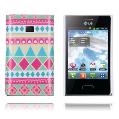 Optical (Rosa) LG Optimus L3 Skal